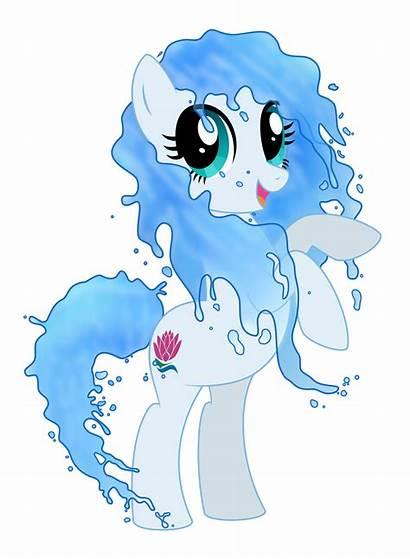 Elemental Pony Water Seishin Reitanna Deviantart Ponies
