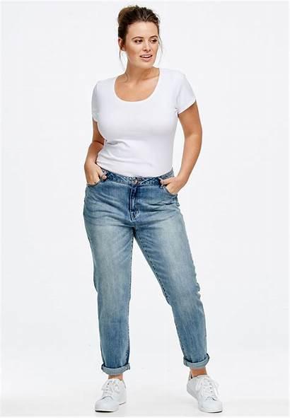 Boyfriend Jeans Plus Ellos Fullbeauty Jean Womens