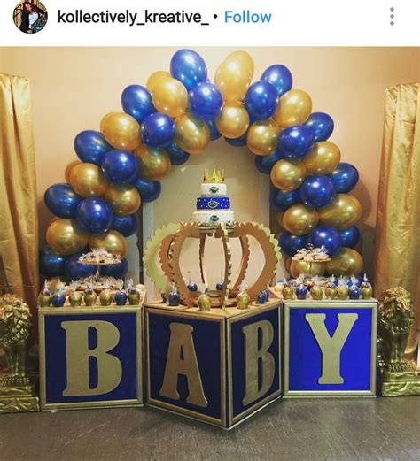 royal prince babyshower baby shower ideas   baby