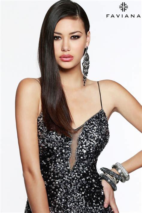 FAVIANA S7377 | Edgy prom dresses, Diva dress, Jovani dresses