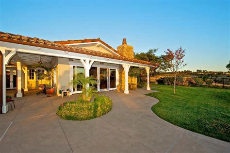 california ranch home santaluz mediterranean patio