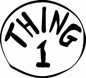 diy thing 1 thing 2 printables clipart best With thing 1 and thing 2 printable template