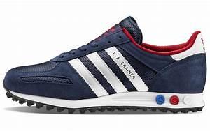 Scarpe adidas LA Trainer blu AW LAB