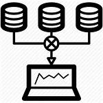 Data Sources Aggregation Collecting Icon Analysis Icons