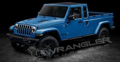 jeep wrangler pickup truck   named scrambler   diesel sort  confirmed
