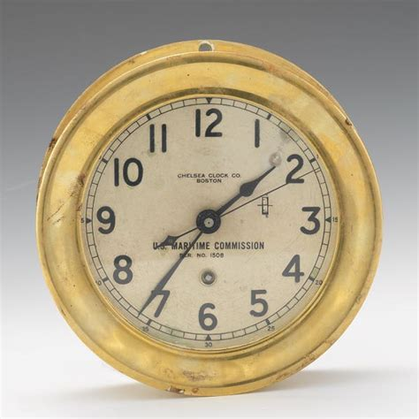 chelsea ships clock chelsea clock company aspire auctions 2138