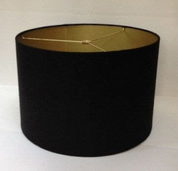 small black drum l shade homeofficedecoration black drum l shade gold lining