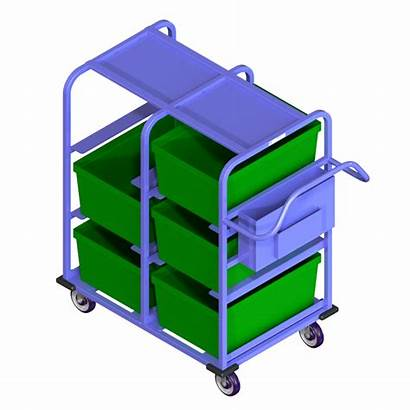 Carts Cart Picking Tote National Loaded Handle