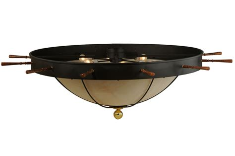 meyda 140743 nautical flush mount ceiling fixture