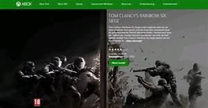Rainbow Six Siege Install Size On Xbox One Revealed