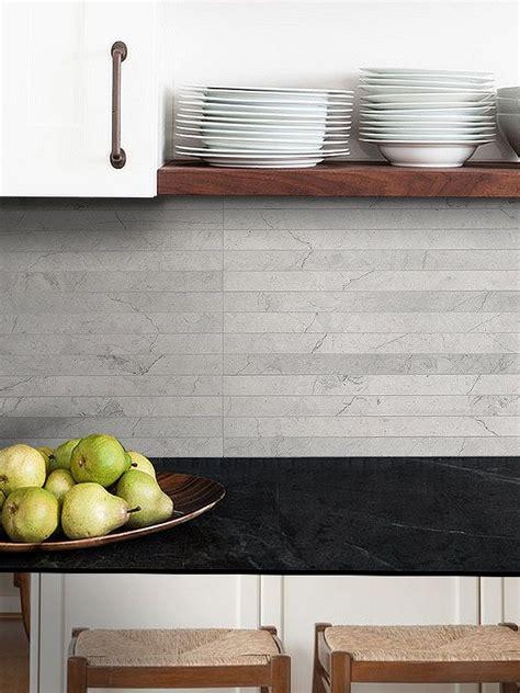 Limestone Kitchen Backsplash by Light Gray Limestone Subway Backsplash Tile S