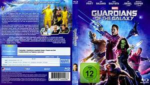 Guardians of the Galaxy blu-ray dvd cover (2014) german