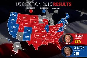 Election 2016 Live Results President Map | Autos Post