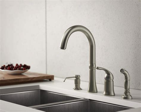 100 brushed nickel kitchen faucets check out these