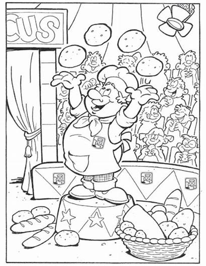 Bakker Bakery Kleurplaat Coloring Backerei Kleurplaten Fun