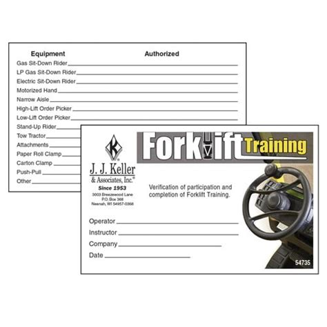 Training contract training agreement between employer and employee template. Free Forklift License Template Download : How To Get Your Forklift License The Ultimate Guide ...