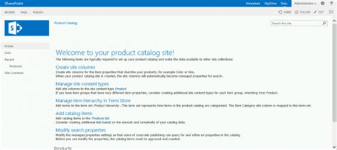 Sharepoint 2013 Product Catalog Site Template by Sharepoint Templates Site Templates For Sharepoint 2013