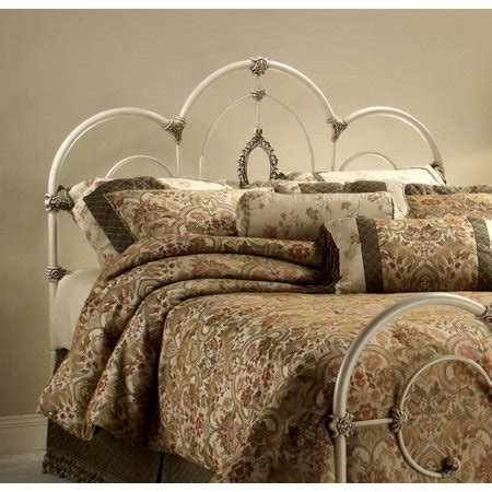 Antique White Headboards by Metal Headboard In Antique White Finish