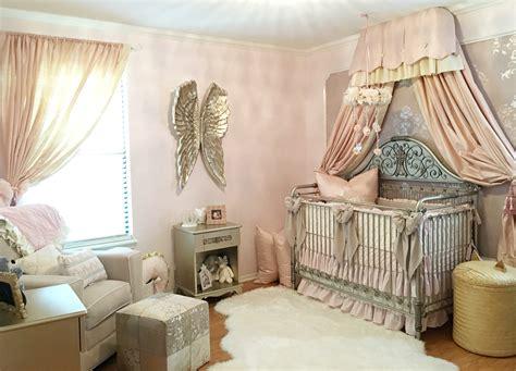 design reveal harlow 39 s vintage glam nursery project nursery