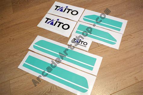 Taito Canary Candy Cab Sticker Set