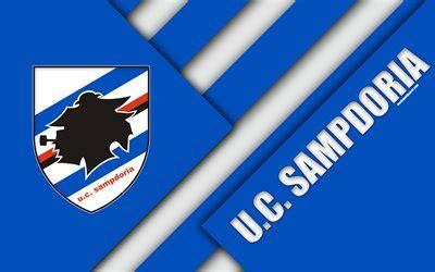 wallpapers sampdoria fc logo  material