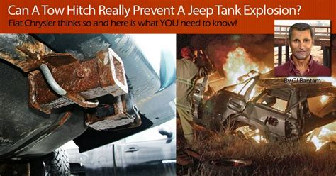 Can Tow Hitch Really Prevent Jeep Tank Explosion