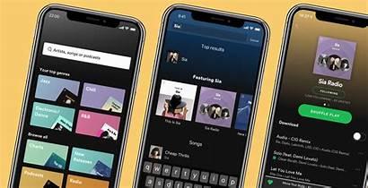 Spotify Premium Update Radio Artist Offline Playback