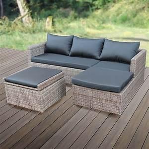 Lounge Set Garten : poly rattan lounge set gartenset garnitur polyrattan ~ A.2002-acura-tl-radio.info Haus und Dekorationen