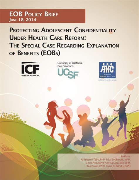 Although larger companies are not required to provide the 10 your health plan cannot cap the cost of care. Protecting Adolescent Confidentiality Under Health Care ...