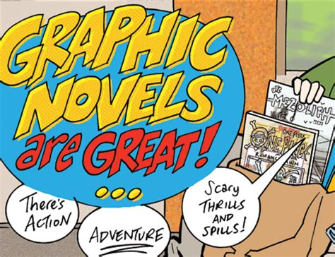 Not Your Papa's Comic Book  Graphic Novels For Younger