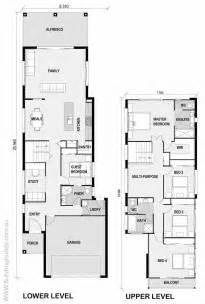harmonious style home plans las 25 mejores ideas sobre planos de vivienda estrecha en
