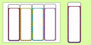 design a bookmark template - editable bookmarks reading books read reading award
