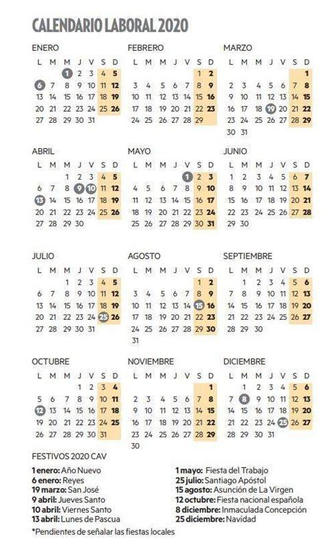 el calendario laboral de tendra dos puentes noticias