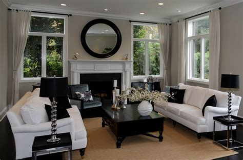 Black And White Chairs Living Room by 72 Living Rooms With White Furniture Sofas And Chairs