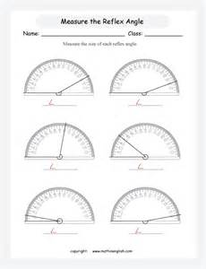 Measuring Angles with Protractor Worksheet