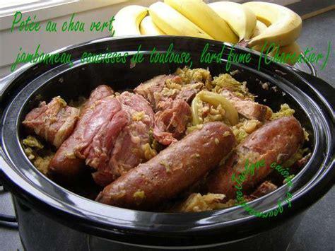 cuisine chou recettes de chou vert et lard