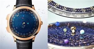 This Astronomical Watch Incredibly Depicts The Real-Time ...