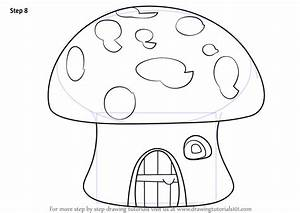 Learn How to Draw a Mushroom House (Houses) Step by Step ...