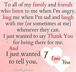 LOVE YOU ALL MY FRIENDS QUOTES image quotes at relatably