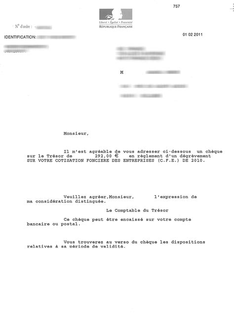 modele lettre reclamation taxe habitation erreur modele lettre reclamation impots fonciers