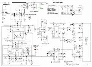 Converter - Dc To Ac Inverter Circuit