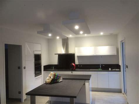 led cuisine plafond suspendu avec led dootdadoo com idées de