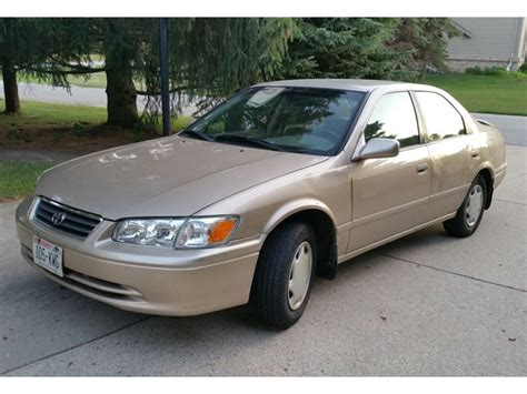 2000 Toyota Camry Power Train Automatic Transmission