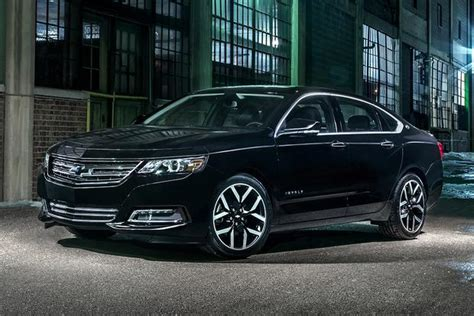 chevrolet impala  car review autotrader