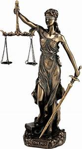 Greek, Goddess, Themis, Statue, Figurine, Blind, Lady, Justice, Sculpture, Lawyer, Gift