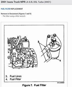 How To Bleed Fuel System And Change Fuel Filters