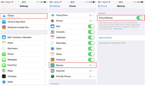 backup photos from iphone how to backup your iphone to apple s icloud
