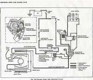 1971 Corvette Wiper Motor Wiring Diagrams