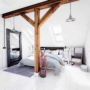 Idee deco chambre adulte nos astuces pour les petits espaces for Idee deco cuisine avec deco chambre style scandinave
