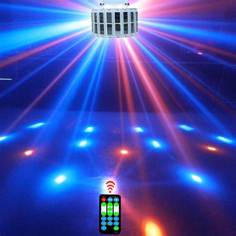 8 colors led stage l 24w 14 modes ktv laser light bar